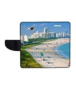 KolorEdge Printed Flip Cover For Sony Xperia SP Multicolor - (45KeMLogo10801XperiaSP)