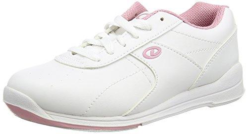 Damen Bowlingschuhe Dexter Raquel IV weiß/rosa (US 6.5)