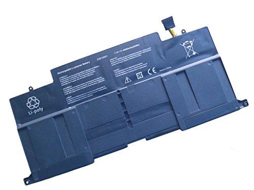6800mAh Batterytec® Batterie pour ASUS C22-UX31, ASUS UX31 Series, ASUS UX31 UX31E Ultrabook Series, ASUS ZenBook UX31 UX31E Series. [7.4V 6800mAh, 12 mois de garantie]