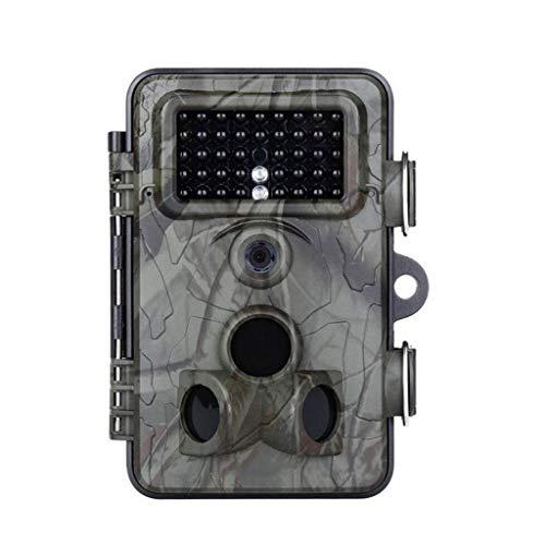 ail Kamera, 1080P 12MP Nachtsicht-Bewegung aktivierte Tierfangkamera-Kamera 0.4s Triggergeschwindigkeit 2,4-Zoll-Bildschirm IP66 wasserdicht für Outdoor-Überwachung Home Security-J ()
