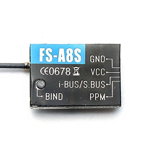 Preisvergleich Produktbild LHI Flysky FS-A8S 2.4G 8CH Mini Receptor SBUS PPM i-ÔNIBUS Para Rc Quadcopter FS-I6X FS-i4 FS-i6 FS-i6S transmissor