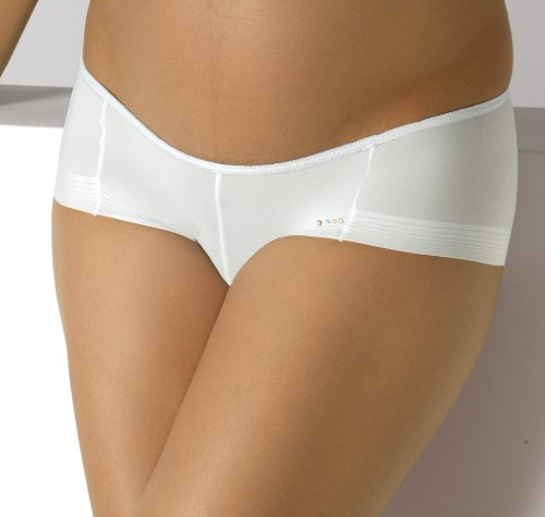 CACHE shorty femme cOEUR umstandsmode 3D light invisible sous-vêtements/slip - Blanc