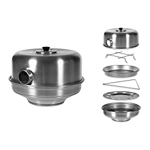 Pentole Agnelli Family Cooking Aluminium Bake - Stove With Eye, Diameter 35 Cm.