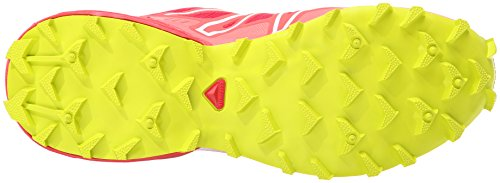 Salomon Speedcross 3 W, Scarpe sportive, Donna Rosa (Pink (Lotus Pink/Papaya-B/Gecko Green))