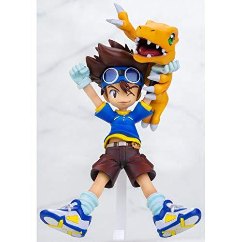 Digital-tücher (HEAGREN Spielzeug Figur Digital Baby Spielzeug Modell Anime Charakter Geschenk/Collectibles/Sub-Biest/Plus Tuch Beast 11 cm (Color : A))