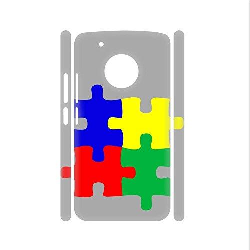 Babu Building Design Autism 1 auf G5 Plus Moto Harte Pc-H¨¹llen Lustig Women (Flag Rebel Camo)