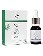 Grandeur Tea Tree Oil for Skin Hair and Acne Care 15Ml Pure