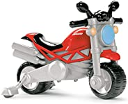 Chicco Ducati Monster Moto Giocattolo per Bambini, Gioco Cavalcabile con Clacson e Rombo Sonoro, Ruote di Supp