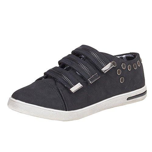 Damen Schuhe, HY507, FREIZEITSCHUHE Schwarz