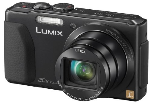 Panasonic DMC-TZ41EG9K Digitalkamera (18,1 Megapixel, 20-fach opt. Zoom, 7,5 cm (3 Zoll) Touchscreen, 5-Achsen bildstabilisator) schwarz