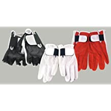 1 Paar RB 22952 RXL Drummer-Handschuhe ohne Finger (rot / Größe XL)