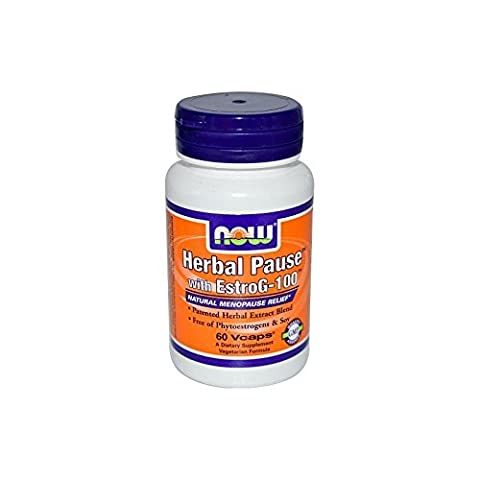 Now Foods – Herbal Pause – 60 capsules