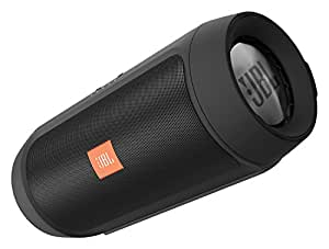 JBL Charge 2+ Altoparlante Stereo Bluetooth Wireless Portatile a Prova di Schizzo con Batteria Ricaricabile, Ingresso Stereo 3,5, Microfono Soundclear, Compatibile con Dispositivi iOS Apple e Android, Nero