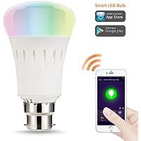 Lohas smart LED lampadina B22, 9W Equivalente 60W, 810lm, dimmerabile, Controllabile via App, Impostazione della scena, La vita intelligente, Per prima cosa selezionare Smart Home