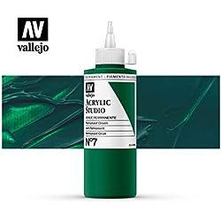 Vallejo Acrylic Studio 22007 Permanent Green (200ml)
