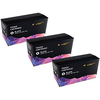 3 Compatibles Cartouches de Toner Laser pour Brother TN1050 DCP-1510, DCP-1510E, DCP-1512, DCP-1512E, DCP-1610W, DCP-1612W, HL-1110, HL-1110E, HL-1112, HL-1112E, HL-1210W, HL-1212W, MFC-1810, MFC-1810E, MFC-1910W