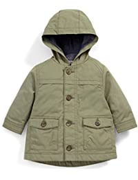 Mamas and Papas Cotton Canvas Parker, Manteau Bébé Garçon