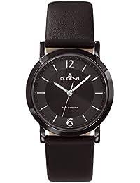 Dugena Damen-Armbanduhr Funkuhren Analog Quarz Leder 4460554