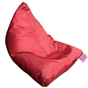 Bigbao - le berlingo rouge be103 - Mini pouf chauffeuse dehoussable pour l'interieur et l'extérieur