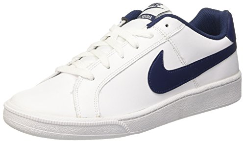 Nike Court Royale Scarpe da Ginnastica, Uomo, Bianco (White/Midnight Navy), 42.5
