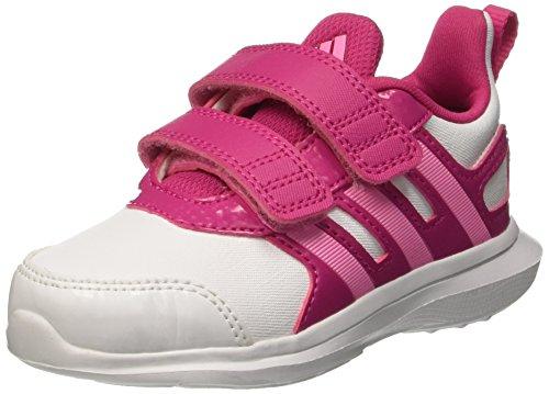 adidas Hyperfast 2.0 Cf I, Chaussures pour Premiers Pas Mixte Bébé Multicolore - mehrfarbig (Ftwwht/Sepigl/Eqtpin)
