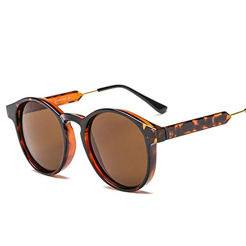 Daawqee Prämie Sonnenbrillen,Brillen,Retro Round Sunglasses Men Women Unisex Vintage Design Small Sun Glasses Driving Shades Male Female Glasses as picture Brown
