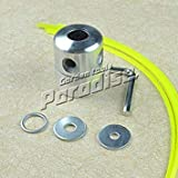 4 Nylon Trimmer Line Alloy Weed Aluminium Trimmer Head for Brush Cutter Adaptor