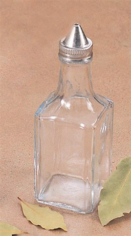Oil/Vinegar Cruet with metal top by Better Houseware - Cruet Top