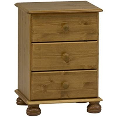 Steens Richmond Bedside Table, Cream/Pine_Parent