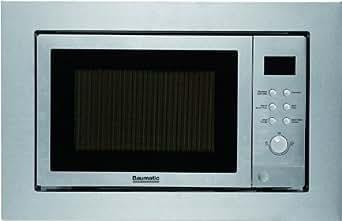 Baumatic BMC253SS - Baumatic BMC253SS - Four micro-ondes avec grill - intégré(e) - 25 litres - 900 W - acier inoxydable