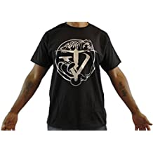 Tyger Vinum, black Men's T-Shirt, gold logo