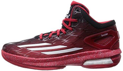 Adidas CrazyLight Boost rot / weiß / schwarz