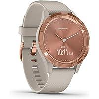 Garmin vívomove stilvolle Hybrid-Smartwatch mit analogen Zeigern & OLED-Display für schmale Handgelenke, Sport-Apps & Fitness-/Gesundheitsdaten, wasserdicht, 5 Tage Akkulaufzeit