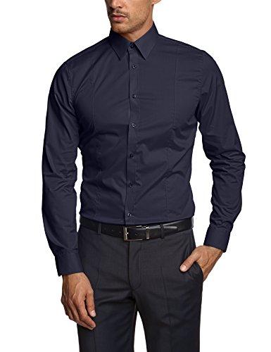 Venti Herren  Business Hemd 001470 Blau (blau 104)