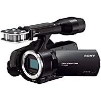 Sony NEX-VG30EH Full HD-Camcorder mit Wechseloptik (16,1 Megapixel Exmor Sensor, 11,1-fach opt. Zoom, 7,6 cm (3 Zoll) Display, HDMI) inkl. SEL-P18200 Power-Zoom Objektiv schwarz