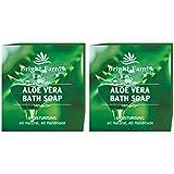 [Sponsored]Bright Farms Handmade Premium Natural Aloe Vera Skin Care Bath Soap 100 Gms Pack Of 2