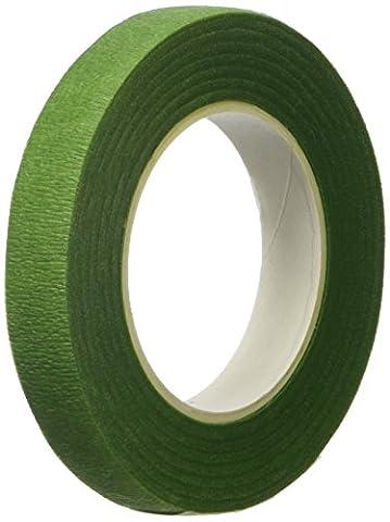 Decora 0803051 Ruban pour Tige Papier Vert Pale 12 mm 27 m
