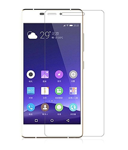 Vibhar Toughened Tempered Glass Screen Protector for Gionee Elife S7  available at amazon for Rs.189