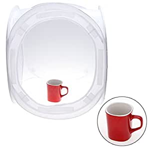 Cubical White Light Tent 40x40x40 cm With Multiple Colour Backdrops For Easy Photography Photo Studio Booth