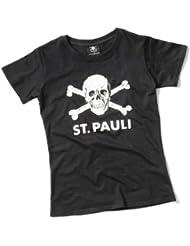 1.FC St. Pauli - Totenkopf Girlie Shirt