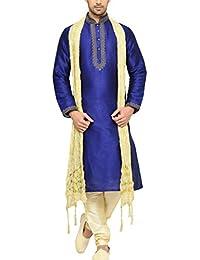 Indian Poshakh Men's Bangalore Silk Sherwani