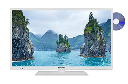 Telefunken XH32G511D-W 81 cm (32 Zoll) Fernseher (HD-Ready, Triple-Tuner, Smart TV, Prime Video, DVD-Player)