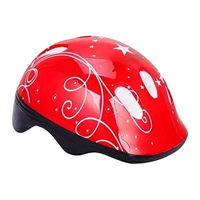 Linda Wellszhangjianbin Beneficial 7 Pcs Kids Helmet Toddler Boys Girls Adjustable Helmet with Knee Elbow Wrist Pads, for Bike Skateboard Hoverboard Cycling Scooter Rollerblading from Linda Wellszhangjianbin