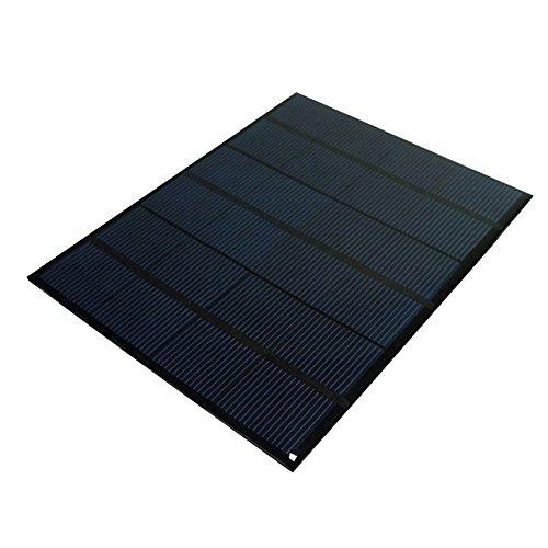 Características:  3.5w 6v panel solar 165mm x 135mm  Grande para el proyecto de bricolaje, se puede utilizar para cargar las baterías de la CC con voltaje debajo de 6V  100% de energía silenciosa y verde, ideal para el medio ambiente  Se puede utiliz...