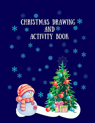 Christmas Drawing and Activity Book -