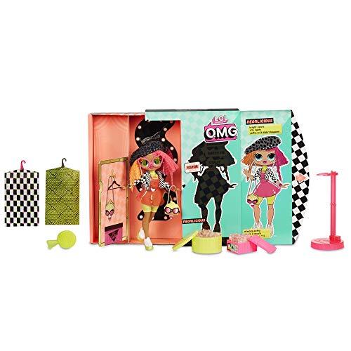 Giochi Preziosi - LOL Top Secret Fashion Doll Neon QT Bambola