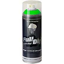 FullDip FLD0400 Vinilo Líquido, Verde Flúor, 400 ml