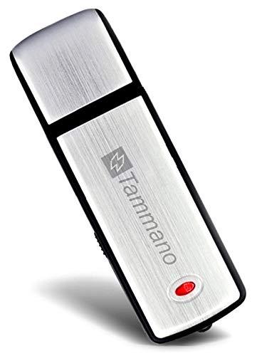 Digitales USB-Aufnahmegerät zum Spionieren von Gesprächen – Mini Spy USB Sound Voice Recorder – mit 8 GB Flash-Drive – Eignet sich am besten für Meetings, Präsentationen, Notizen machen – Mac/Win – Pro Speicherstick – Kein Blinklicht – 96 Std. Tonaufzeichnungen – Ein AN/AUS-Schalter