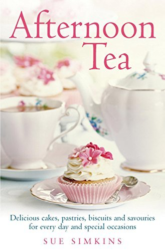 Afternoon Tea: Delicious cakes, pastries, biscuits and savouries for every day and special occasions by Sue Simkins (3-Jul-2014) Paperback