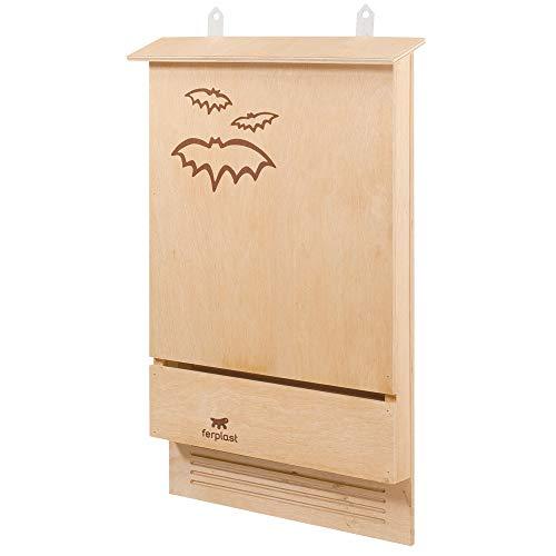 Ferplast Casetta Pipistrelli Bat House Nido per Pipistrelli Bat Box in Legno...